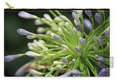 Carry-all Pouch featuring the photograph Agapanthus, The Spider Flower by Yoel Koskas