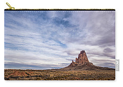 Carry-all Pouch featuring the photograph Agathla Wakes Up by Jon Glaser