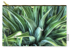 Carry-all Pouch featuring the photograph Agave by Lynn Geoffroy