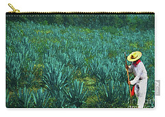 Agave Worker Carry-all Pouch by John Kolenberg