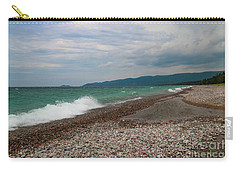 Carry-all Pouch featuring the photograph Agawa Bay by Rachel Cohen
