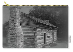 Aged Cabin At The Hermitage Carry-all Pouch
