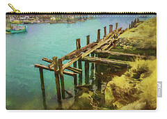 Aged Docks From Winthrop Carry-all Pouch