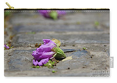 Aged In Purple And Blue Carry-all Pouch