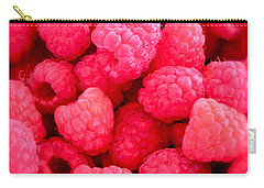 Agenda For Today ... Raspberry Jam Carry-all Pouch