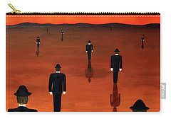 Agents Orange Carry-all Pouch