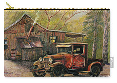 Agent's Visit Carry-all Pouch by Marilyn Smith