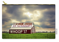 Carry-all Pouch featuring the photograph Aggie Barn by David Morefield