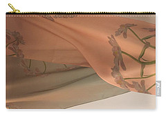 Aging Tulips Silk Carry-all Pouch