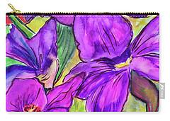 Ah, Iris Carry-all Pouch