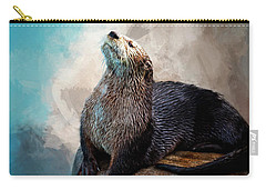 Ahhhhhhhh Carry-all Pouch by Cyndy Doty