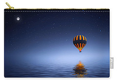 Carry-all Pouch featuring the photograph Air Ballon by Bess Hamiti