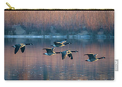 Carry-all Pouch featuring the photograph Air Canada by Ricky L Jones