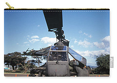 Air Crewmen Secure An Ah-1 Cobra Attack Carry-all Pouch by Michael Wood