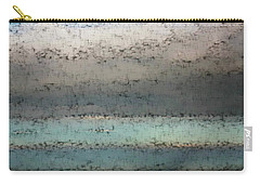Carry-all Pouch featuring the photograph Airborn Blues by Ellen Barron O'Reilly