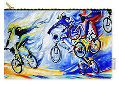 Carry-all Pouch featuring the painting Airborne by Hanne Lore Koehler