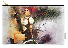 Aircraft Girl Carry-all Pouch