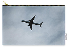 Airplane Silhouette Carry-all Pouch