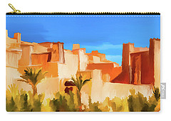 Ait Benhaddou Morocco Carry-all Pouch by Wally Hampton