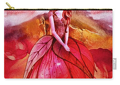 Carry-all Pouch featuring the painting Aithne by Mo T