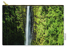 Akaka Falls With Rainbow Carry-all Pouch