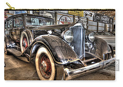 Al Capone's Packard Carry-all Pouch by Nicholas  Grunas