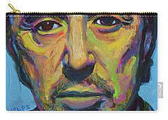 Al Pacino Carry-all Pouch by Robert Phelps