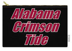 Alabama Football 2 Carry-all Pouch