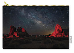 Alabama Hills Milky Way Redlight Carry-all Pouch