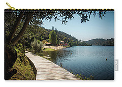 Carry-all Pouch featuring the photograph Alamal Beach by Carlos Caetano