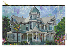Alameda 1893  Queen Anne  Carry-all Pouch