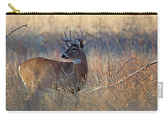 Carry-all Pouch featuring the photograph Alarm by Jim Garrison