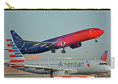 Alaska Boeing 737-900 N493as More To Love Phoenix Sky Harbor October 27 2017 Carry-all Pouch