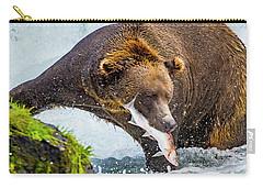 Alaska Brown Bear Carry-all Pouch