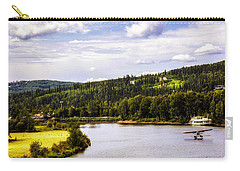Carry-all Pouch featuring the photograph Alaska Float Plane by Madeline Ellis