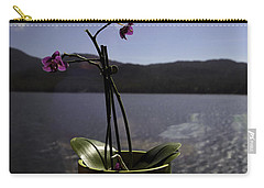 Carry-all Pouch featuring the photograph Alaska Flower Pot by Madeline Ellis