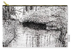 Alaska Pond Carry-all Pouch
