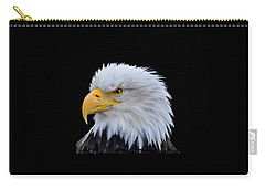 Alaskan Bald Eagle Carry-all Pouch by Diane E Berry