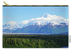Alaskan Denali Mountain Range Carry-all Pouch