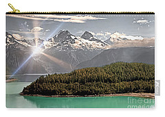 Alaskan Mountain Reflection Carry-all Pouch