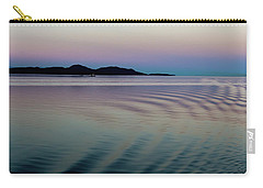 Alaskan Sunset At Sea Carry-all Pouch
