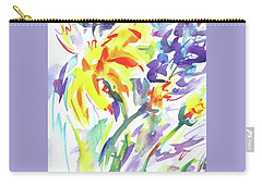 Alaskan Wildflowers Carry-all Pouch