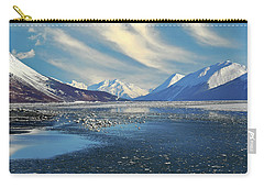 Alaskan Winter Landscape Carry-all Pouch