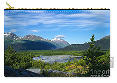 Alaska's Exit Glacier Valley Carry-all Pouch