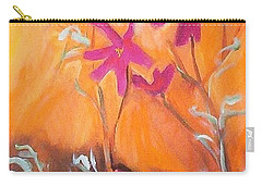 Alba Daisies Carry-all Pouch by Winsome Gunning