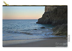 Albandeira Beach Welcoming Twilight 2 Carry-all Pouch