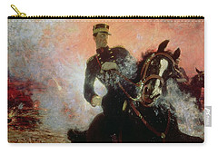 Albert I King Of The Belgians In The First World War Carry-all Pouch by Ilya Efimovich Repin