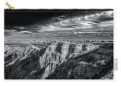 Carry-all Pouch featuring the photograph Alberta Badlands by Wayne Sherriff