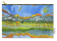 Alberta Canada's Fiery Reflections Carry-all Pouch