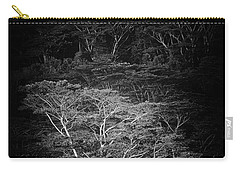 Carry-all Pouch featuring the photograph Albezia Tree by Roger Mullenhour
